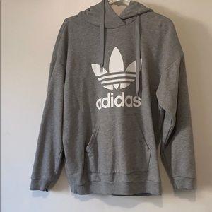 Size medium grey hoodie